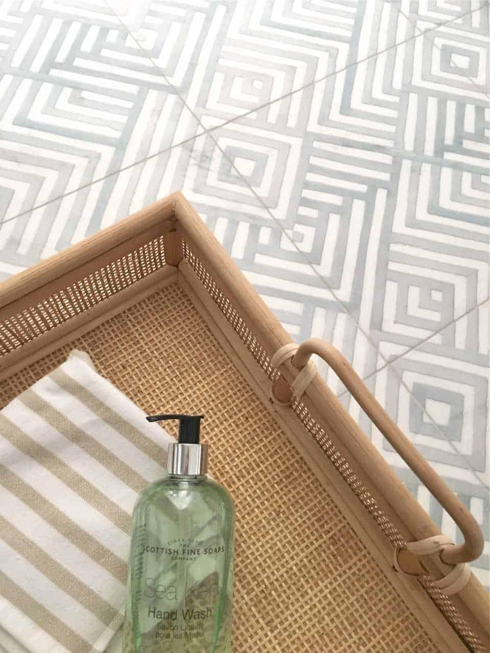 Design loves detail Waterways Blue Floor Install Shot