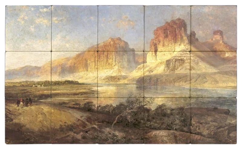 Butte Mural Rendering