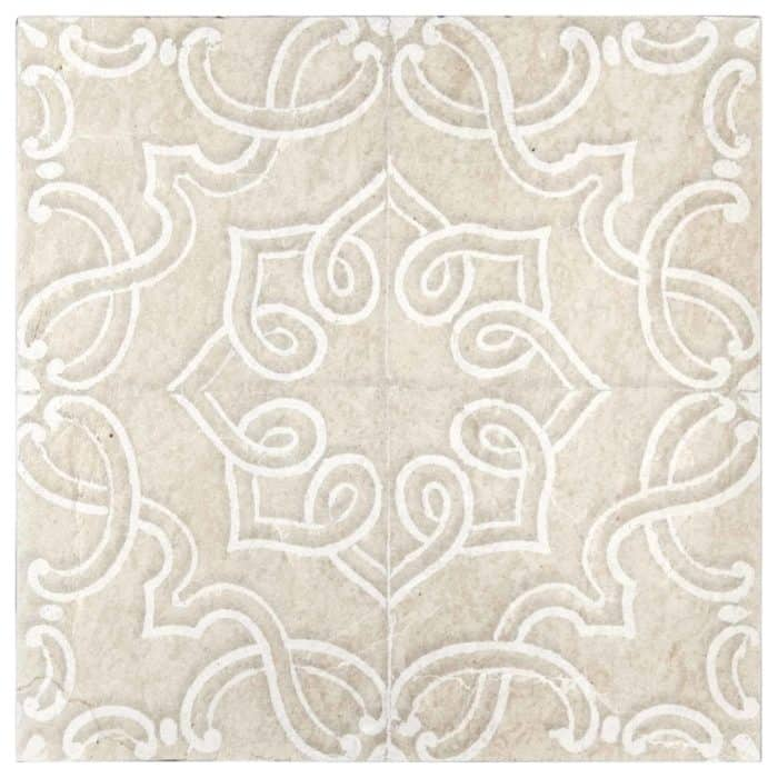 Lennox Pattern (Lace) on Limestone