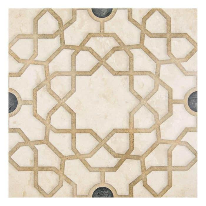 Medina Pattern (Onyx) on Limestone