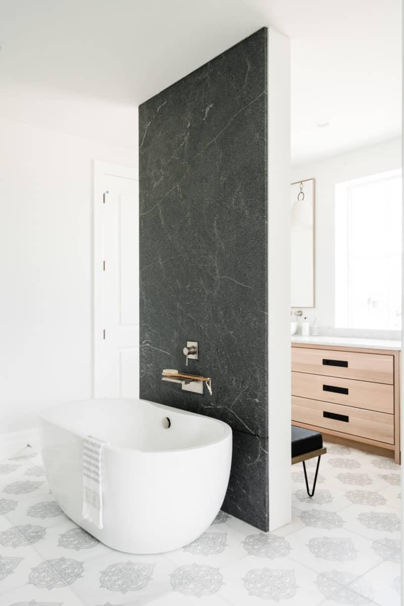 Caprice bathroom floor install