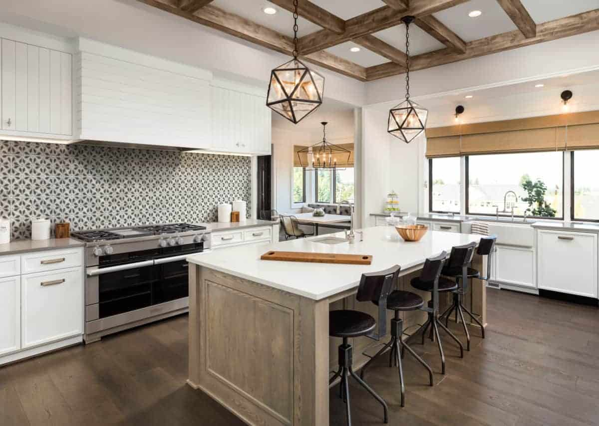 Avery Grande Charcoal Kitchen Install Rendering