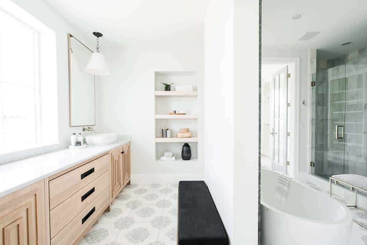 Caprice Sapphire Bathroom Install Shot