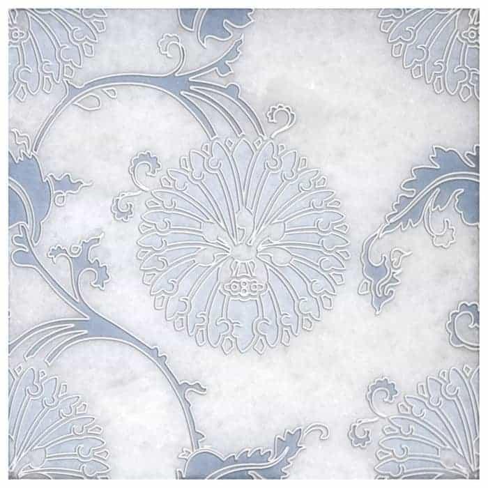 Eliana Dusty Blue Arctic White Product Shot