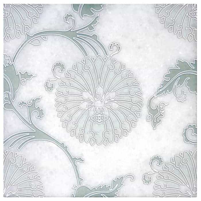 Eliana Green Arctic White Product Shot