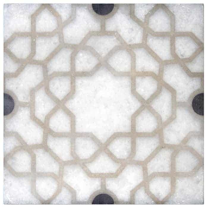 Medina Onyx Arctic White Marble