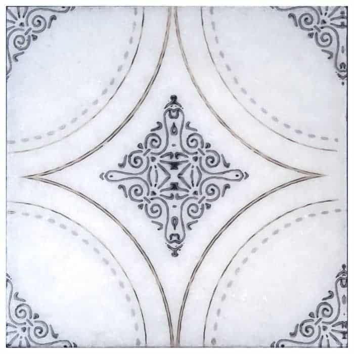 Ventana (Bronze) on Artic White REVISED