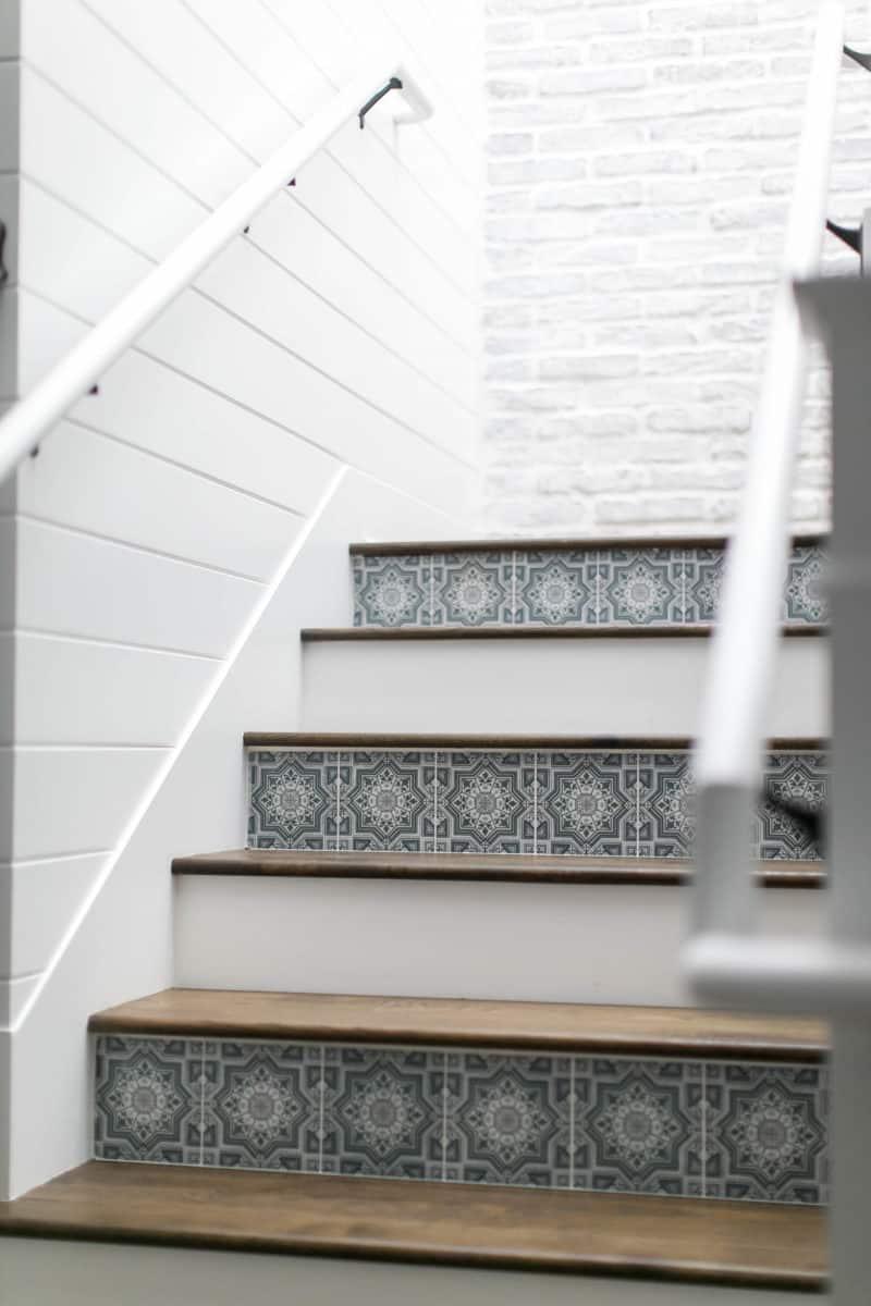 cabrillo stair risers closeup