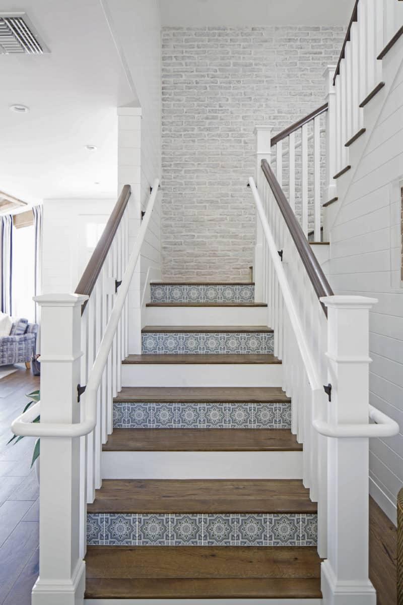 Cabrillo stair risers