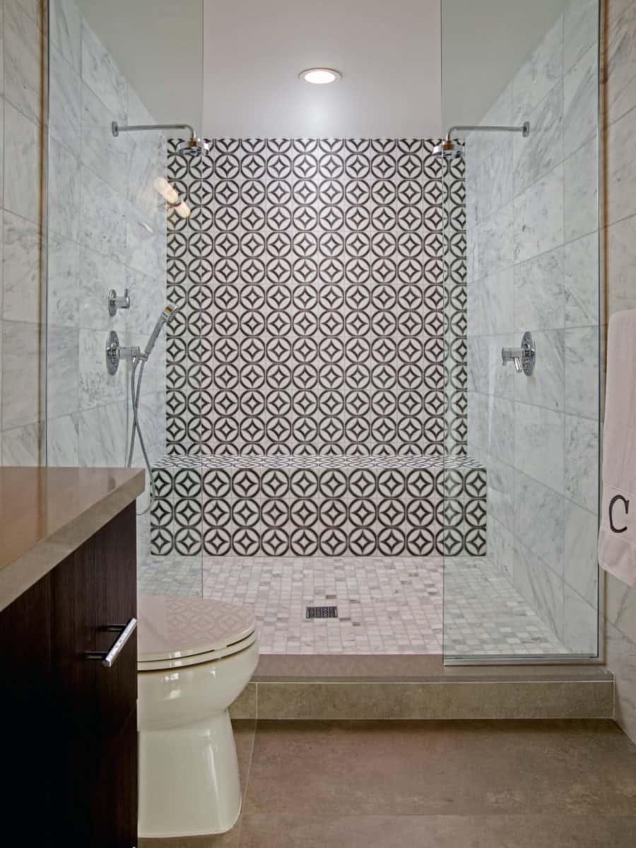 ellipse modernism house bathroom