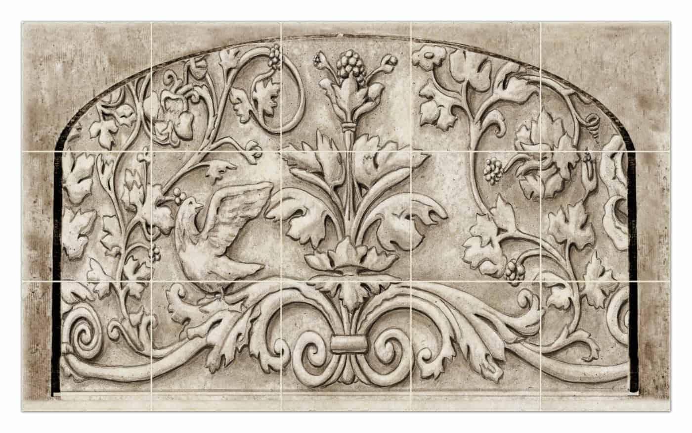 Custom Belle Arch Mural