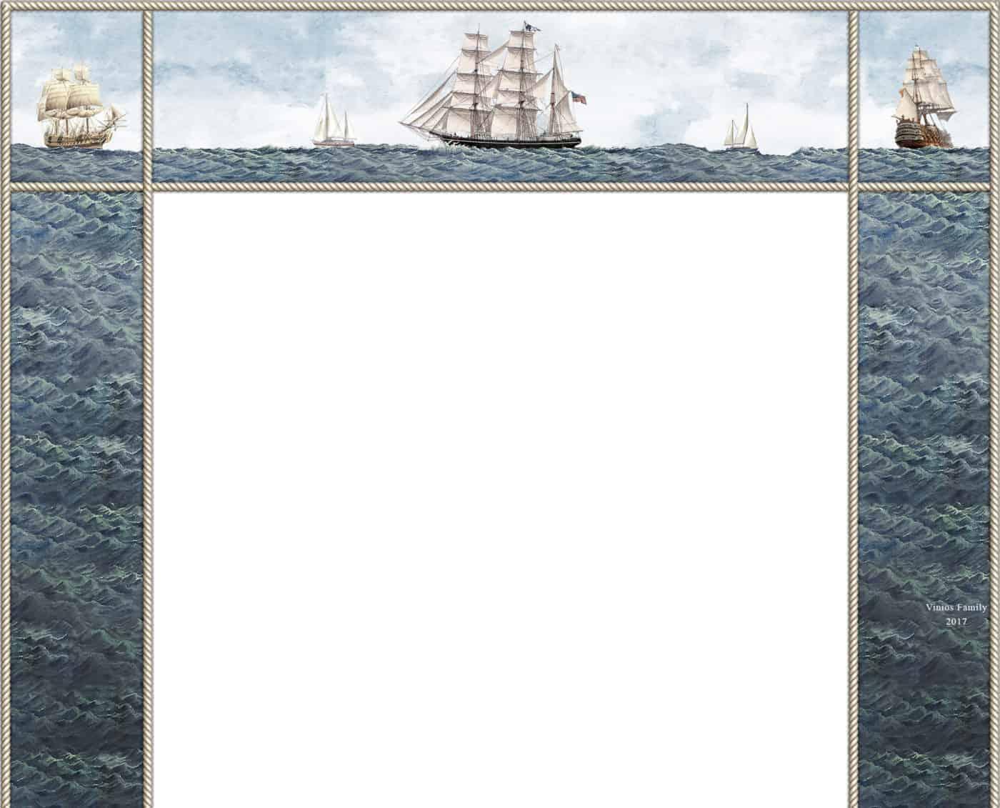 Nautical Fireplace Layout