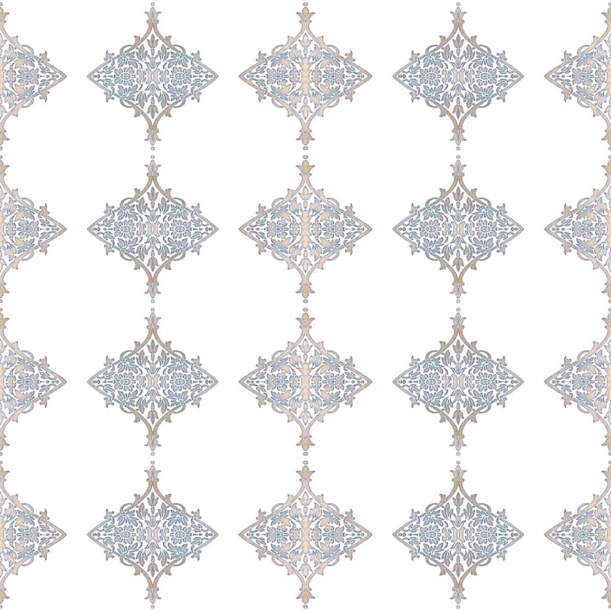 Blue and Beige Pattern