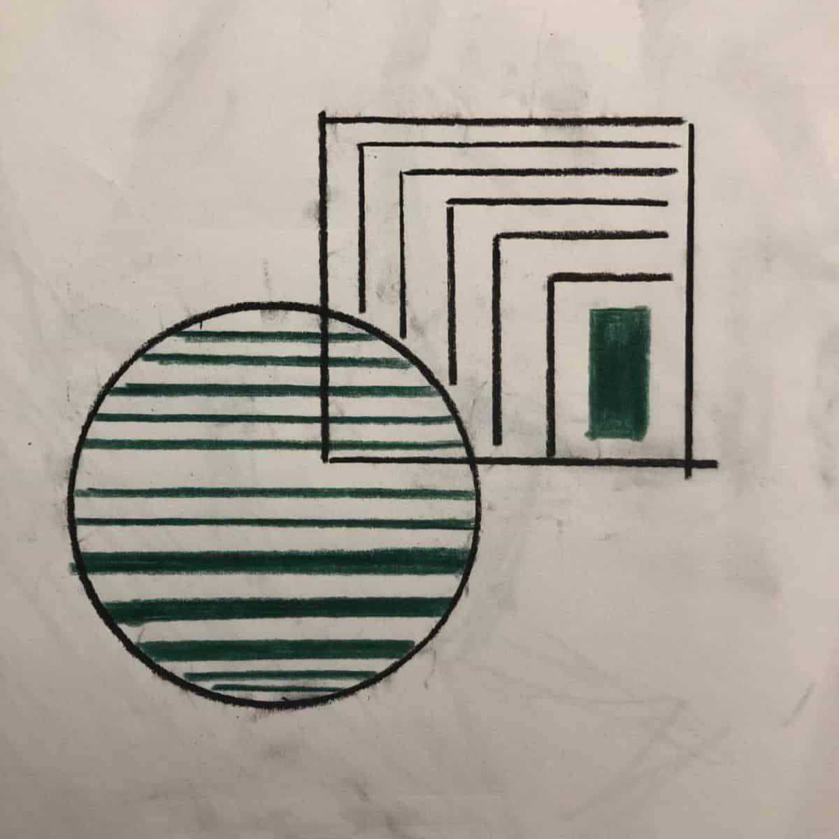 custom tile rough sketch