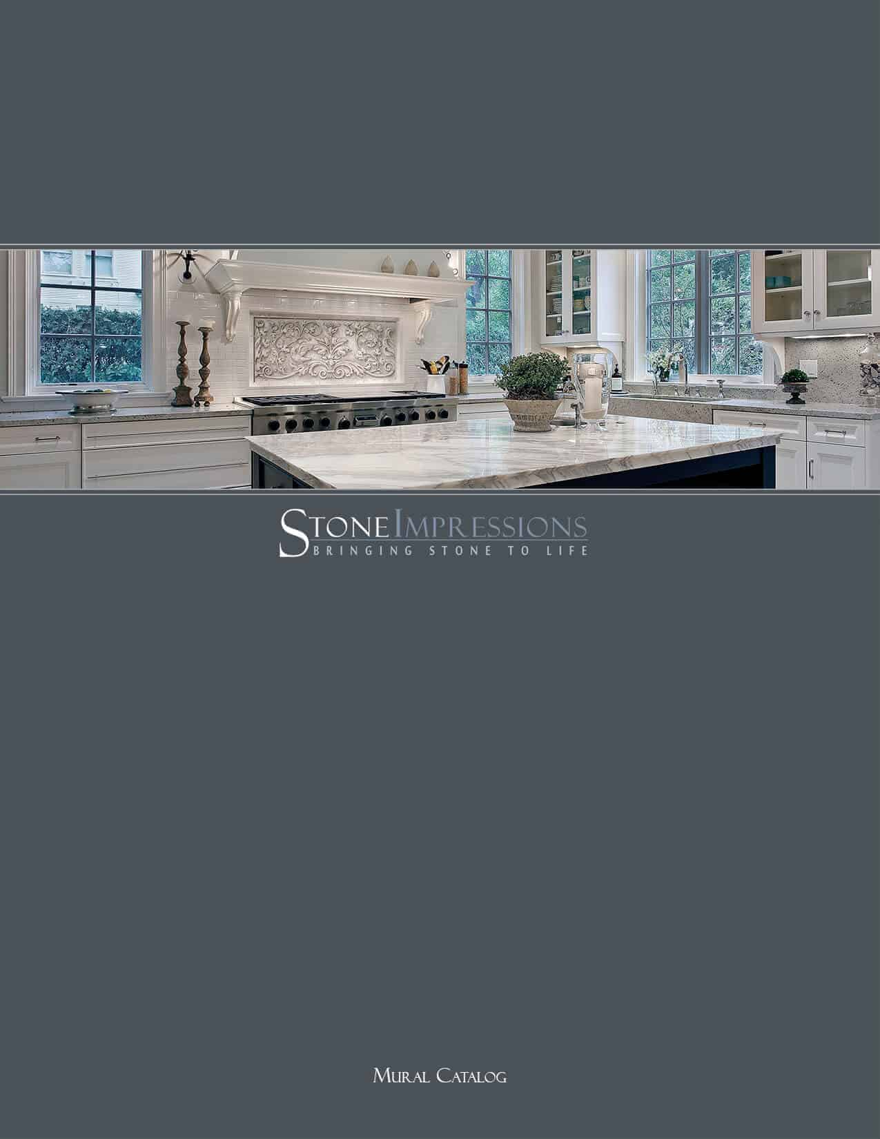 Cover Photo of StoneImpressions Mural Catalog