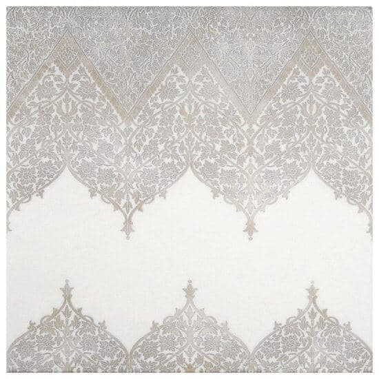 Truly Lace Mural on Thassos StoneImpressions