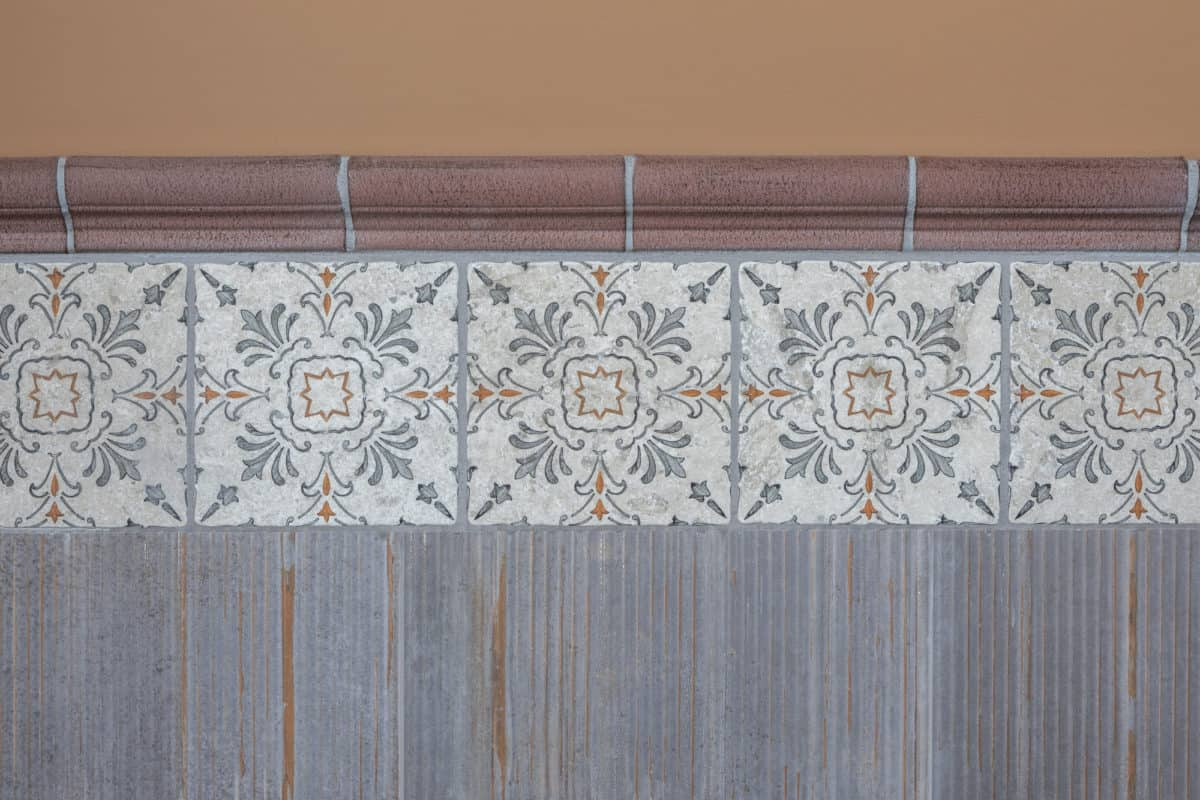 dana point persimmon limestone accent wall