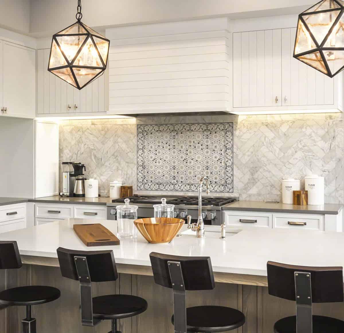 Tavira Kitchen Backsplash Installation