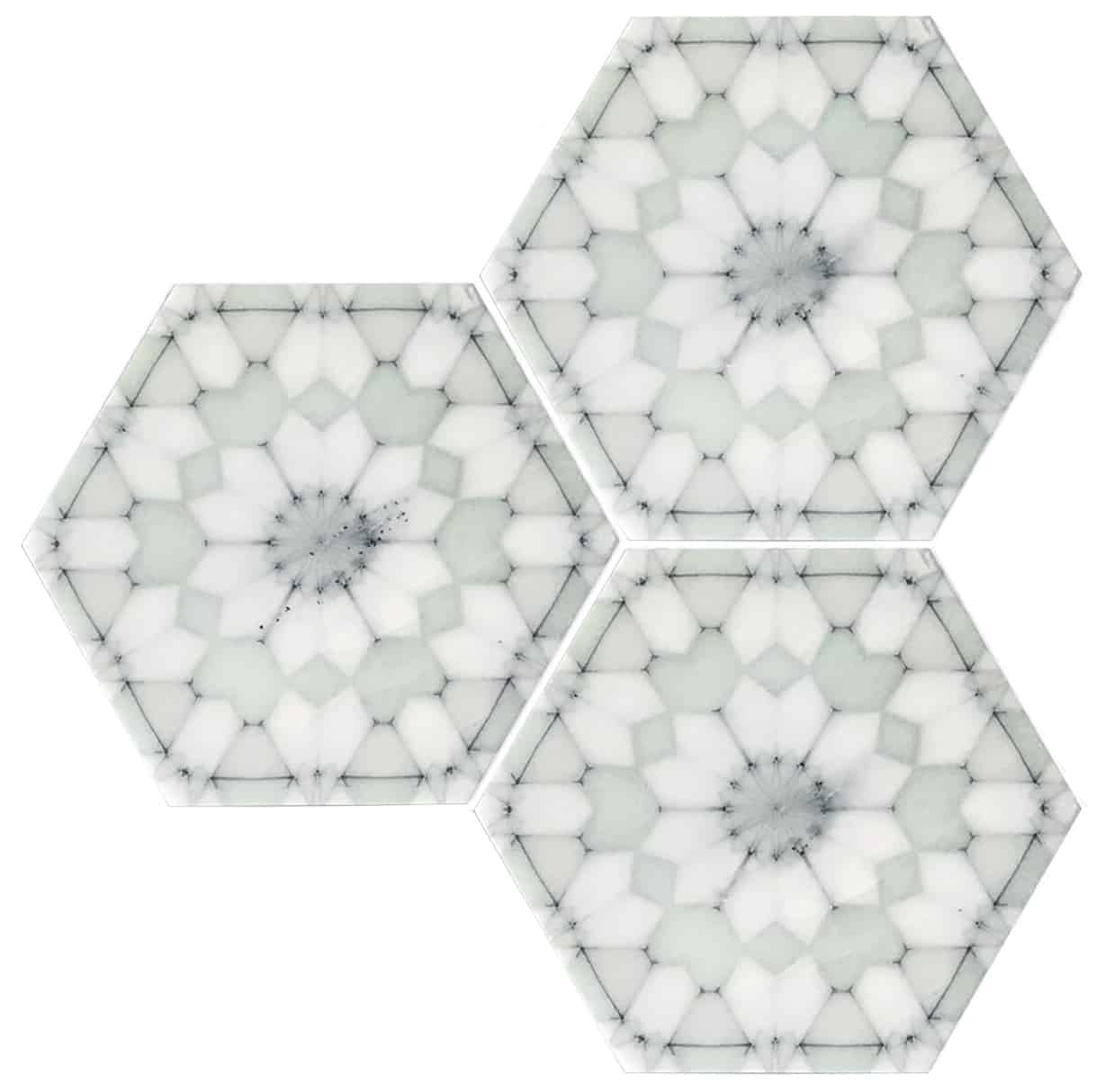 Alston Aliso Mint Green Pattern Tile