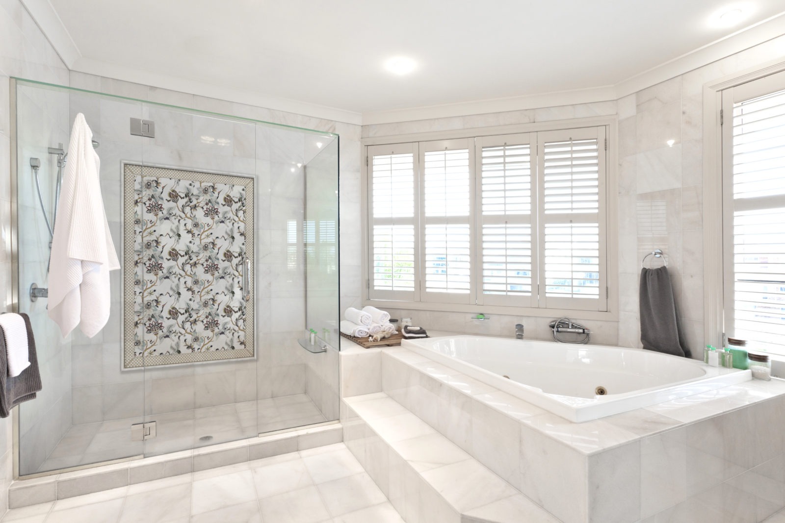 Gilded Garden Bathroom Installation
