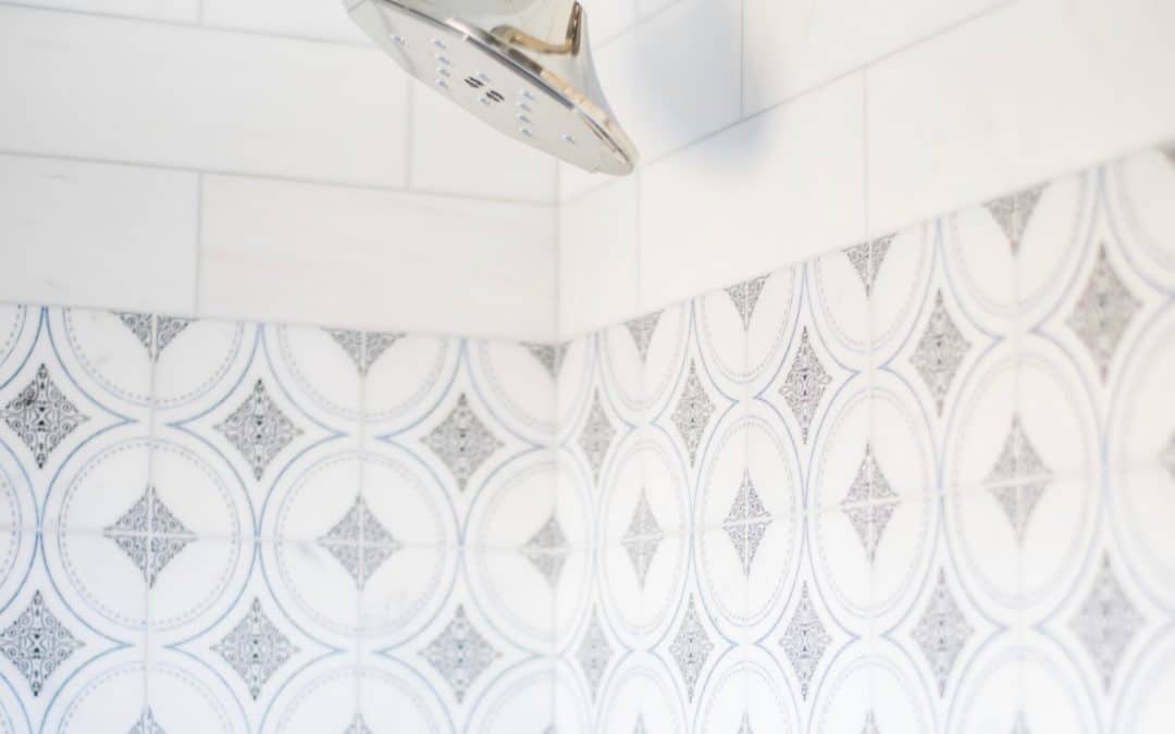 Shower Envy: How to add Decorative Tile to your Shower