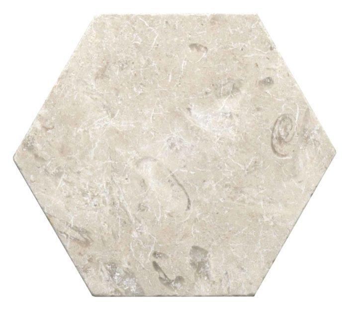 Perle Blanc Hex Tile