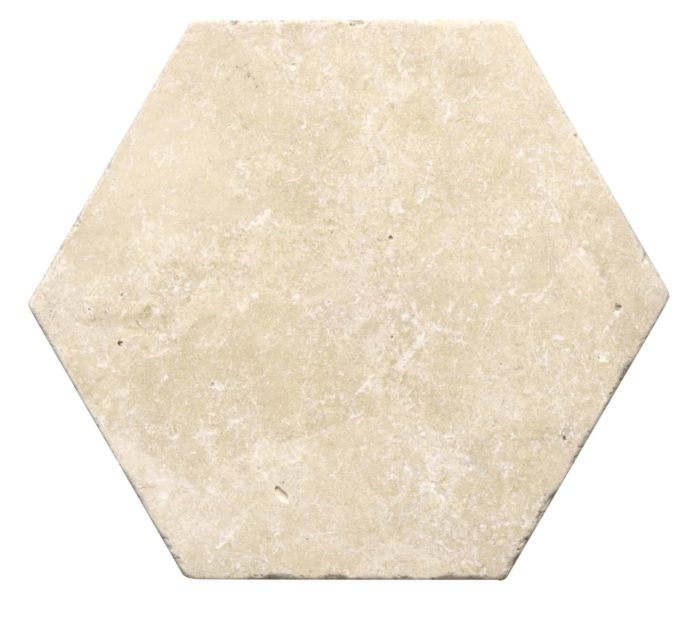 Tumbled Durango Hex Tile