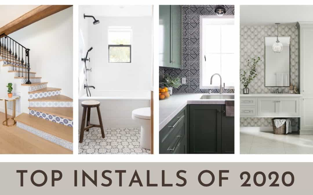Tile Installations That Topped 2020