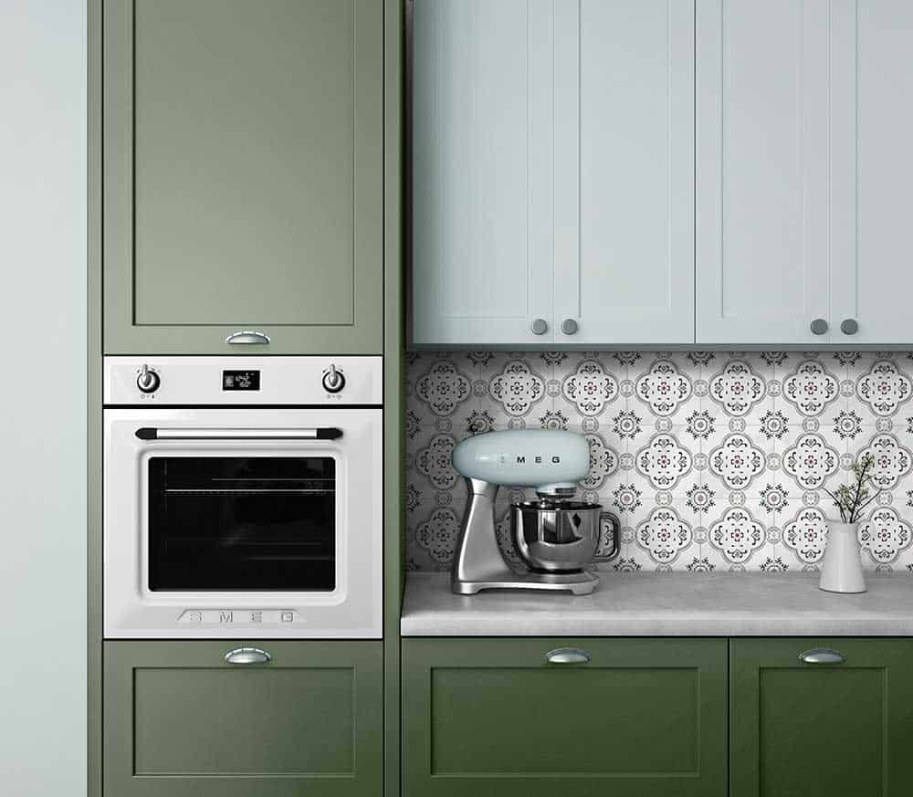Fiore With Sage Green Cabinets