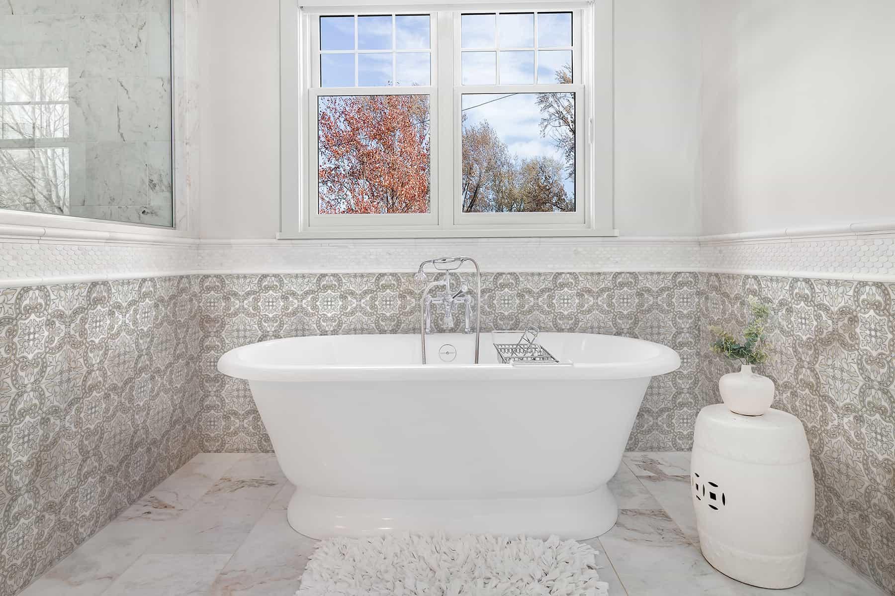 Arya (Autumn) Bathroom on Carrara
