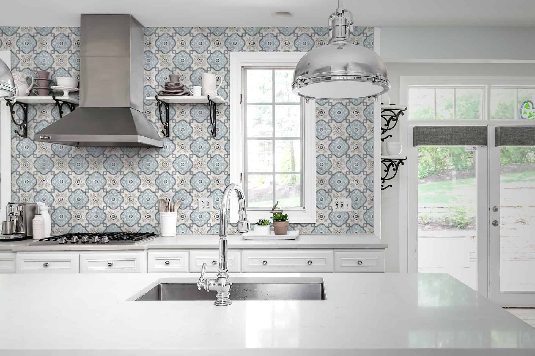 Davenport (Azure) Carrara Kitchen