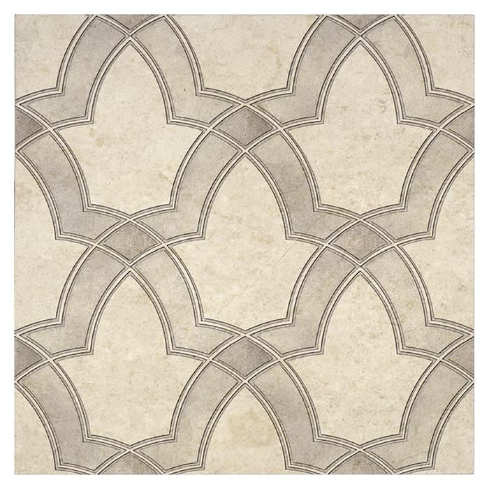 Evolve Pattern (Oyster) on Limestone