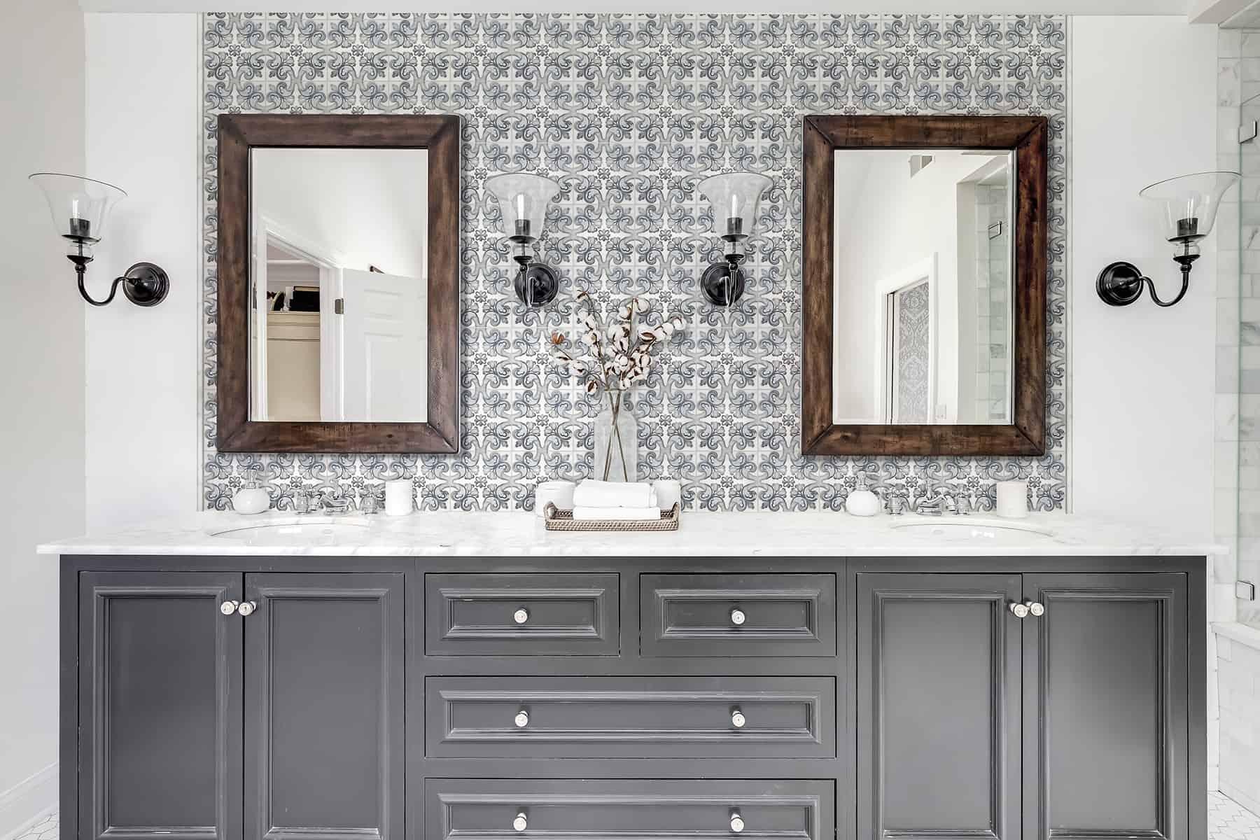 Marbella (Frost) Carrara Bathroom