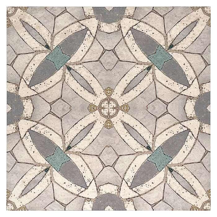 Trinity Pattern (Day) on Limestone