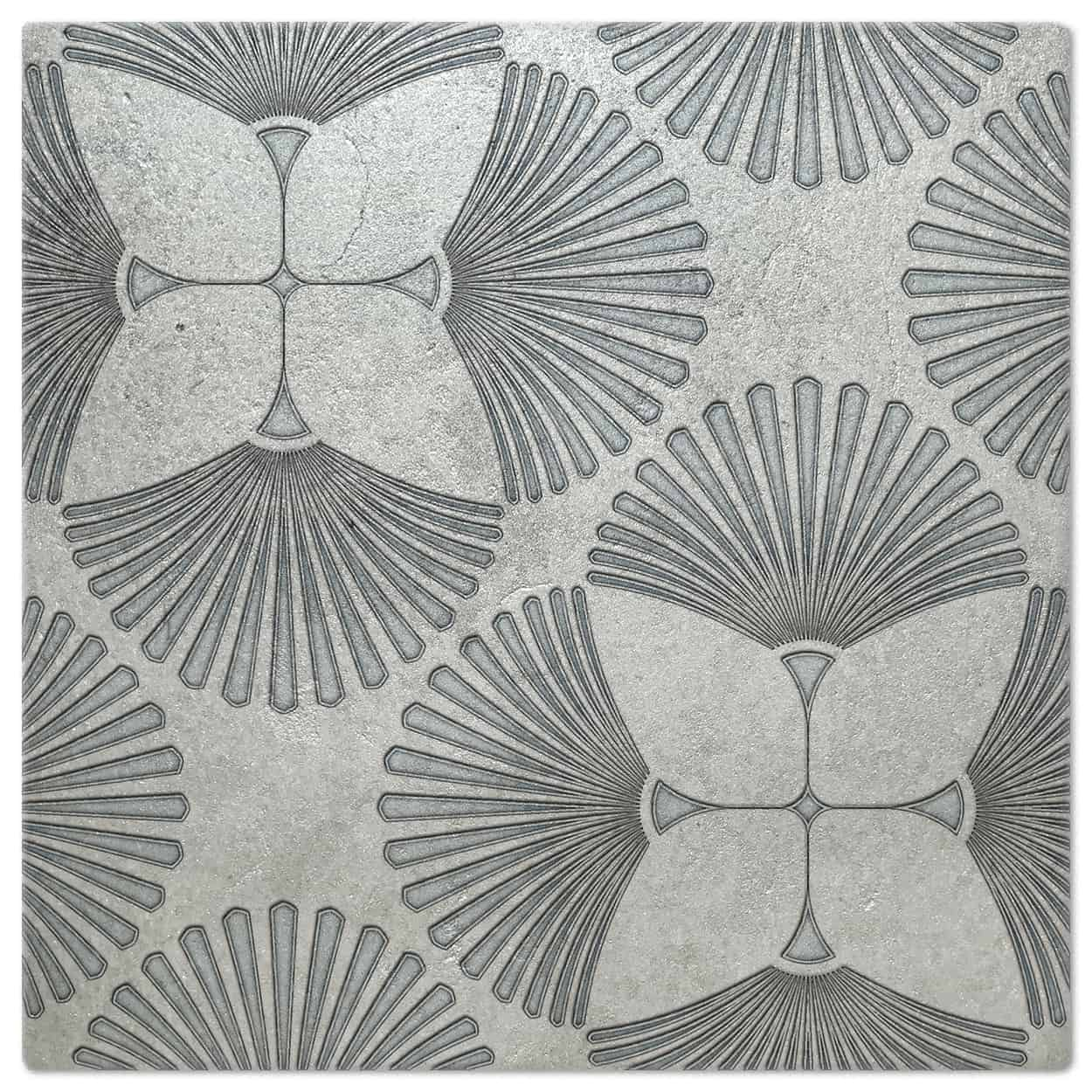 Briolette Agate Luster Pattern Tile