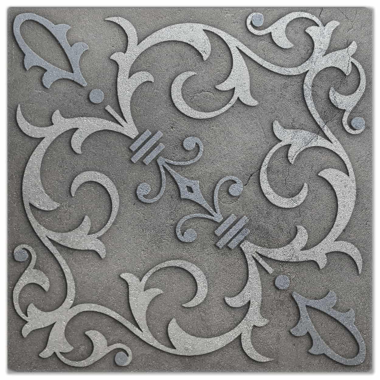 Jacquard Platinum Luster Pattern Tile