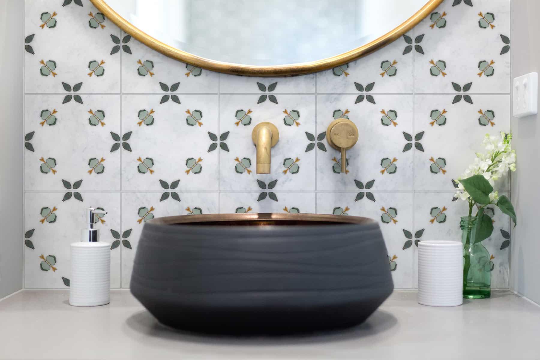 Jax (Juniper) Carrara Bathroom Sink