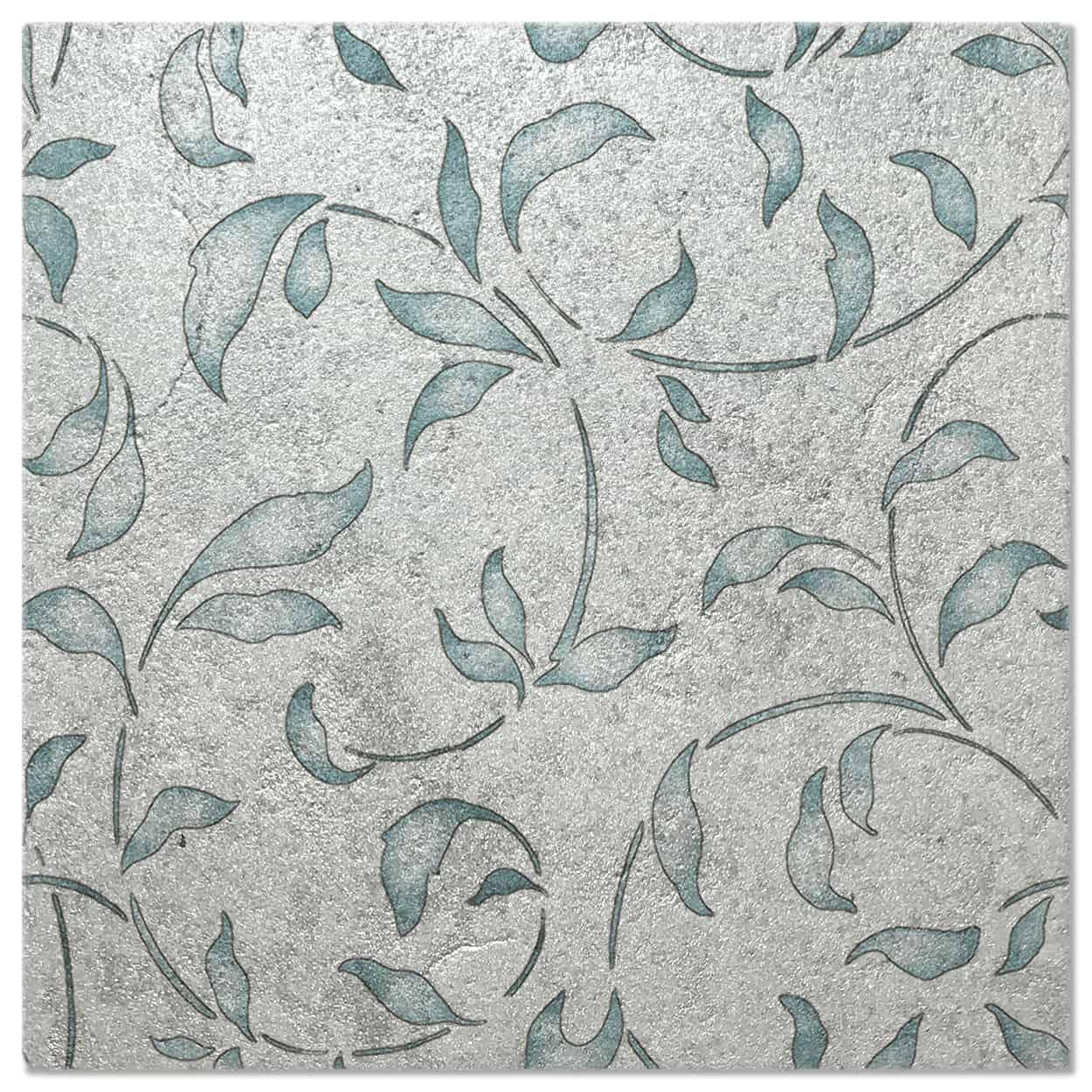 Loire Lapis Luster Pattern Tile