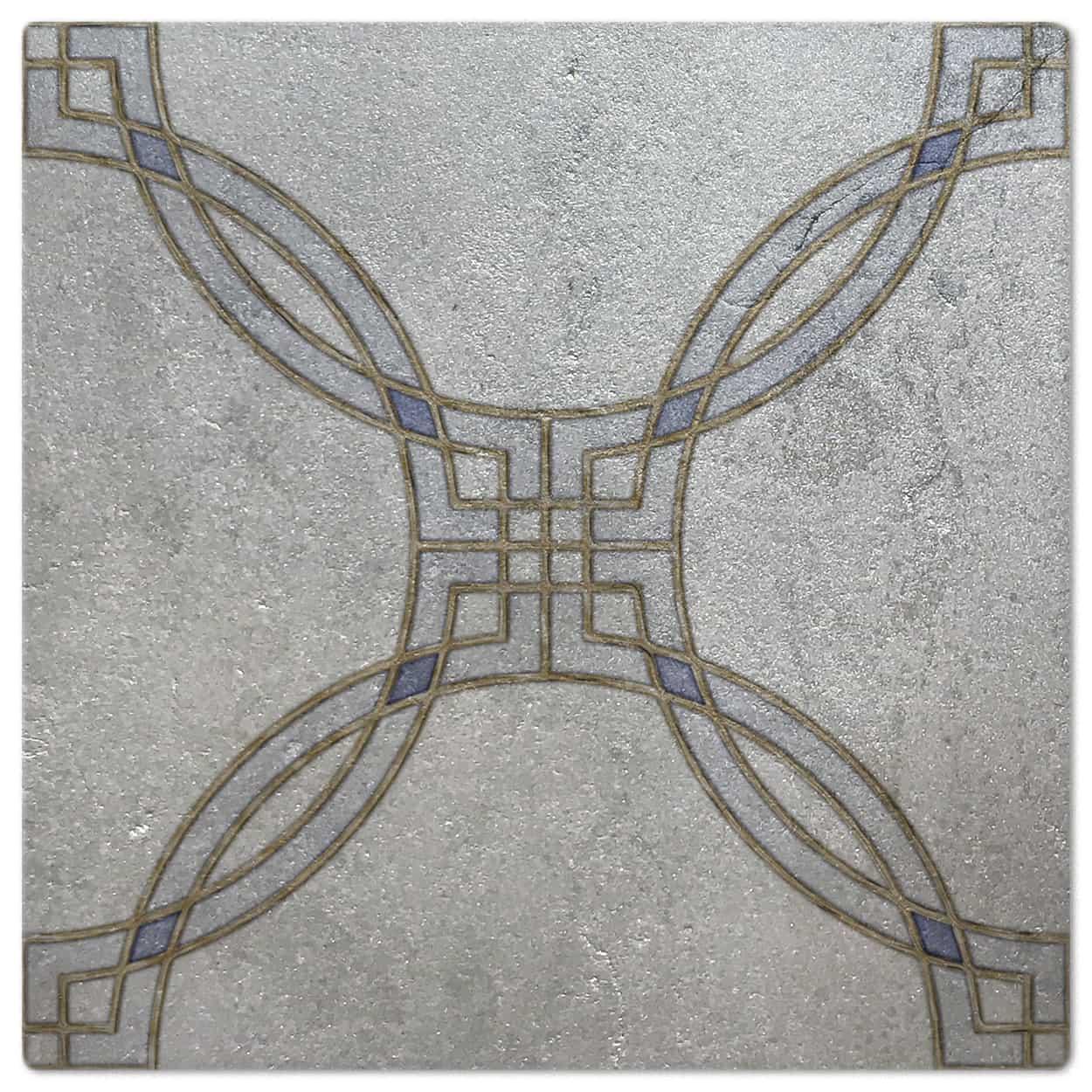 Minuet Moonstone Luster Pattern Tile