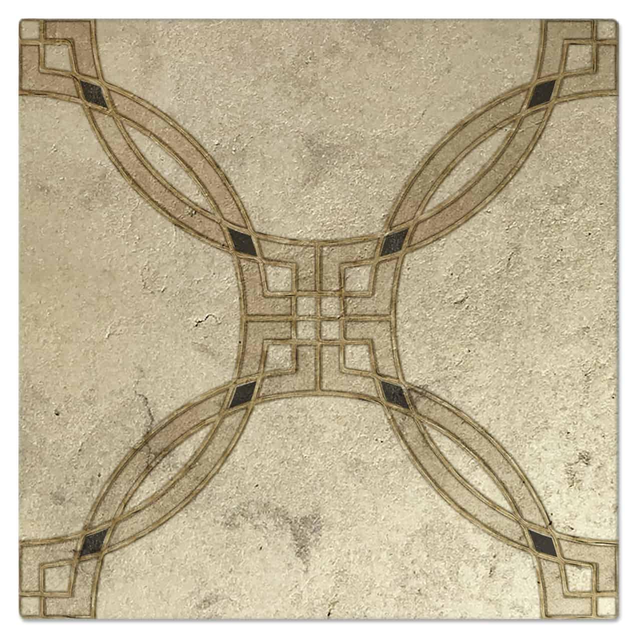 Minuet Sunstone Luster Pattern Tile