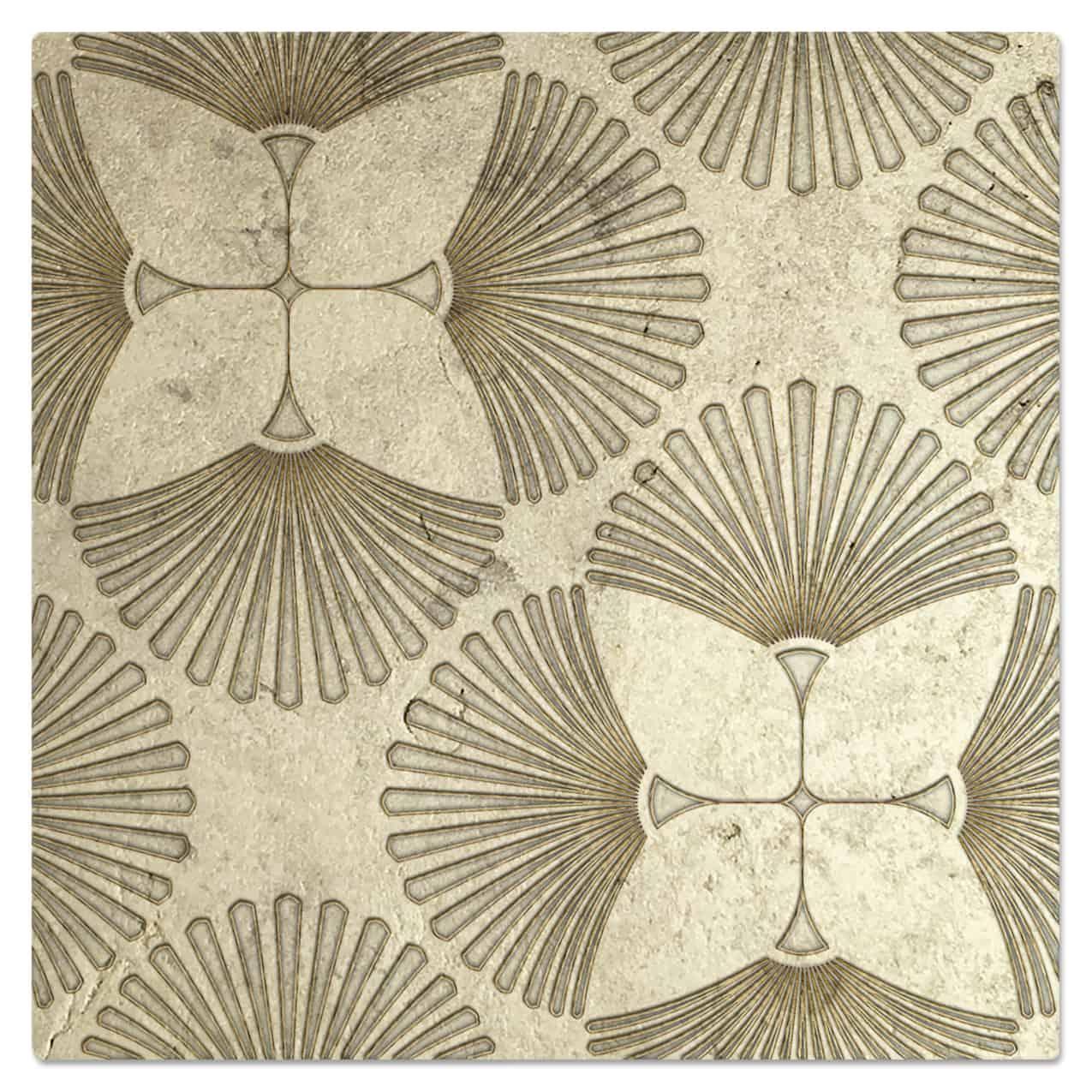 Briolette Luster Pattern Tile