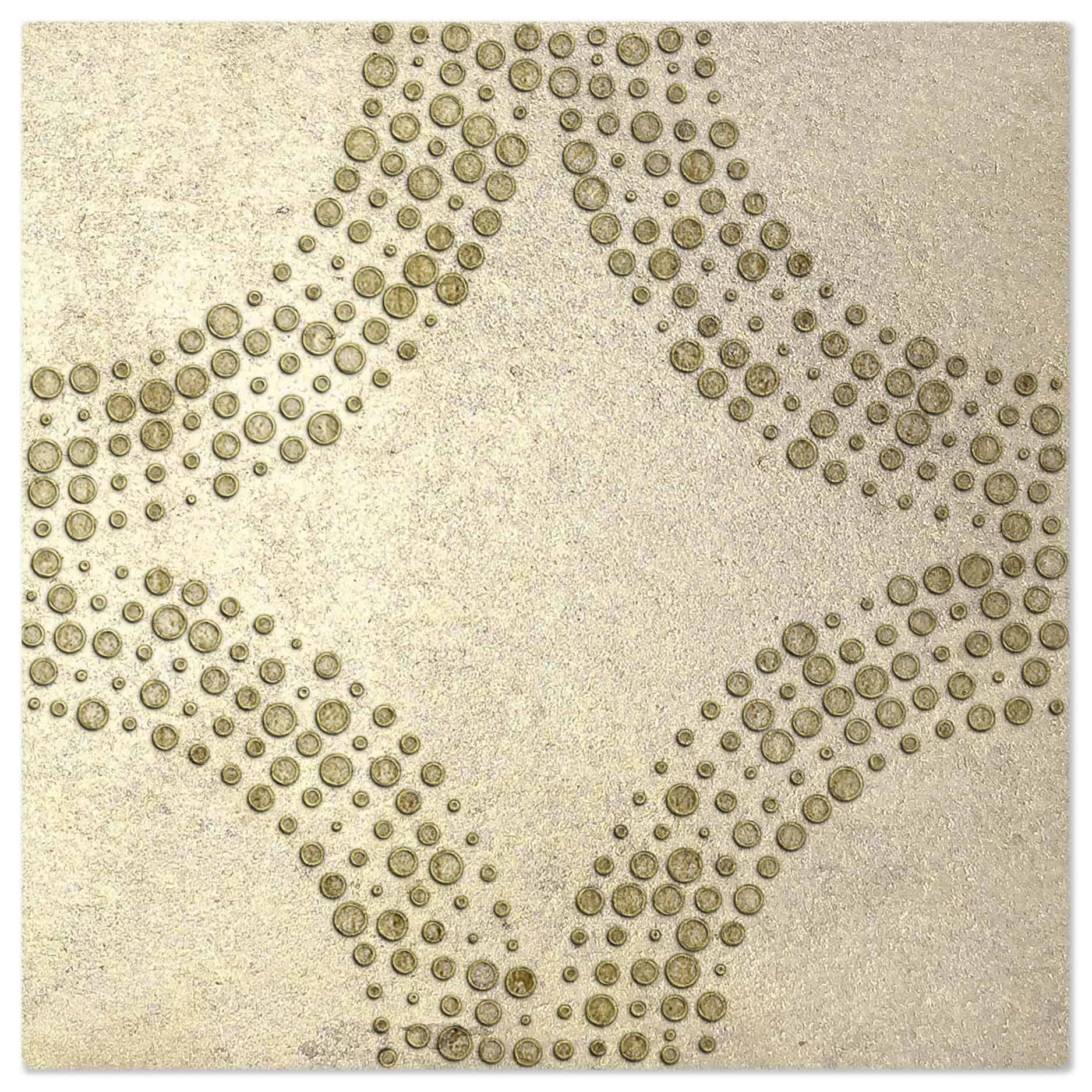 Cabochan Jasper Luster Pattern Tile
