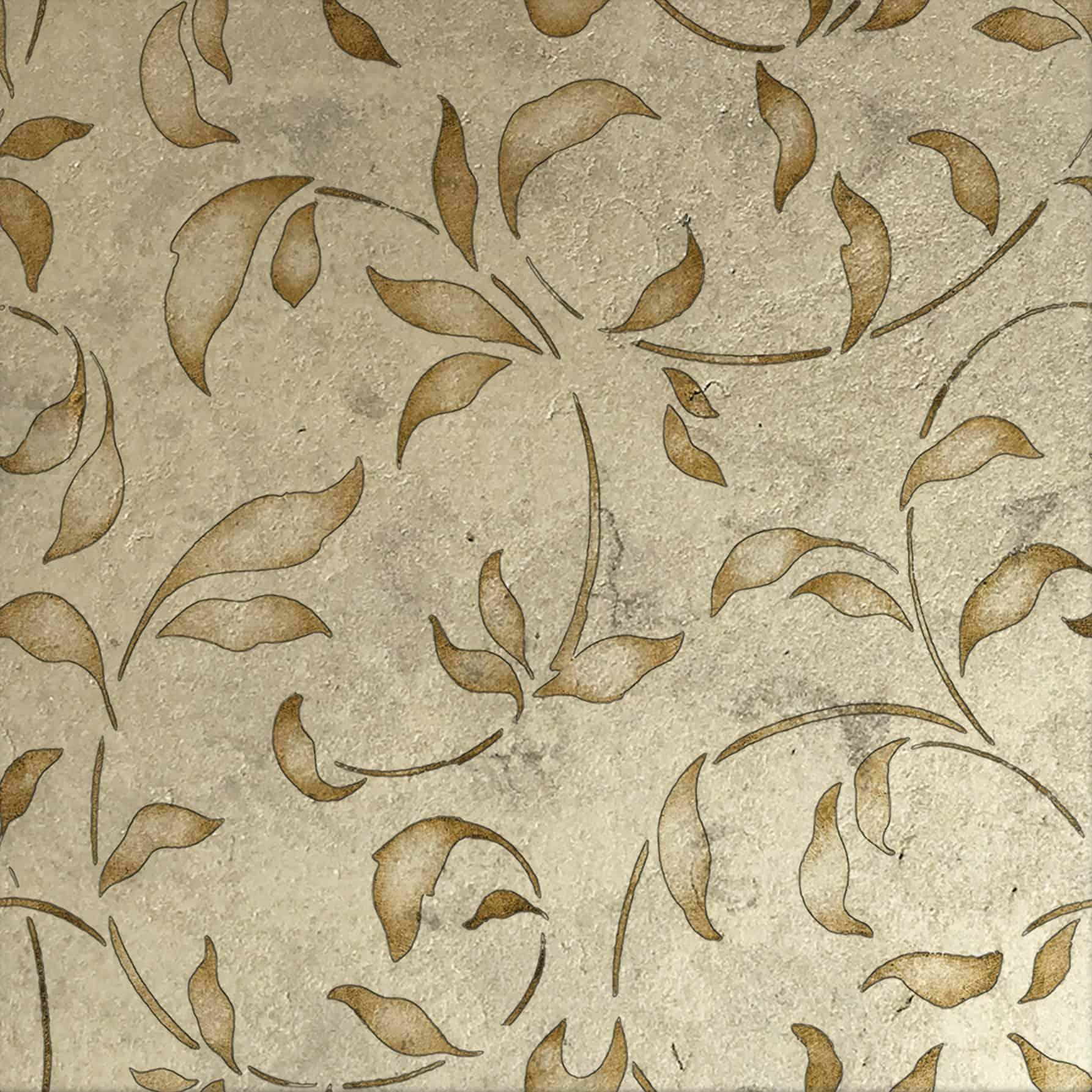 Loire Citrine Luster Pattern Tile