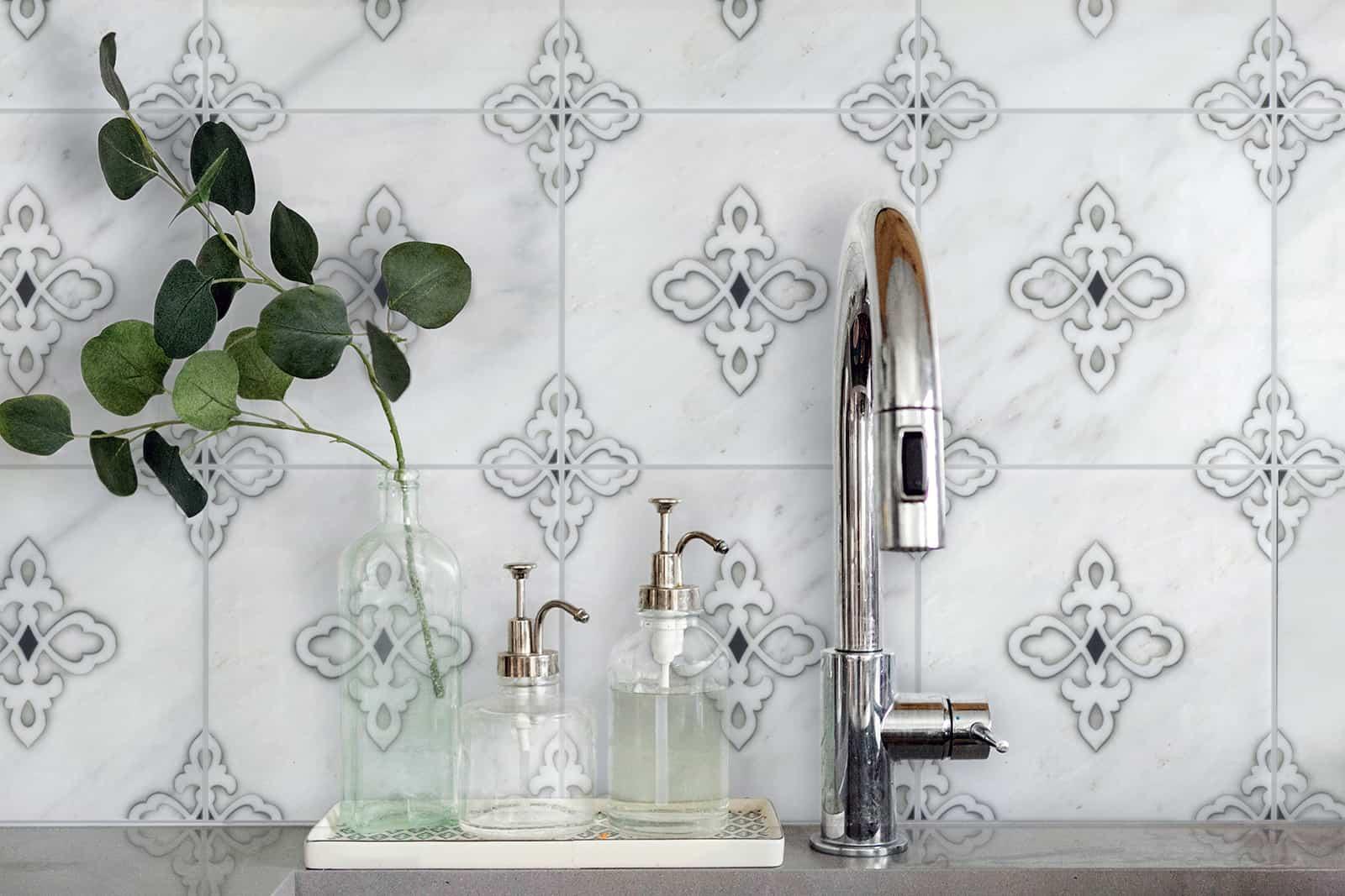 Gemma (Iron) Carrara Bathroom Sink