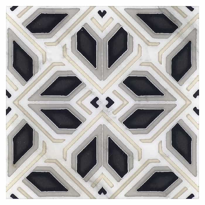 AST - PS - HR - Avery - Grande Pattern - Charcoal - Carrara