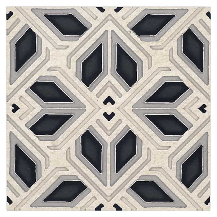 AST - PS - HR - Avery - Grande Pattern - Charcoal - Limestone