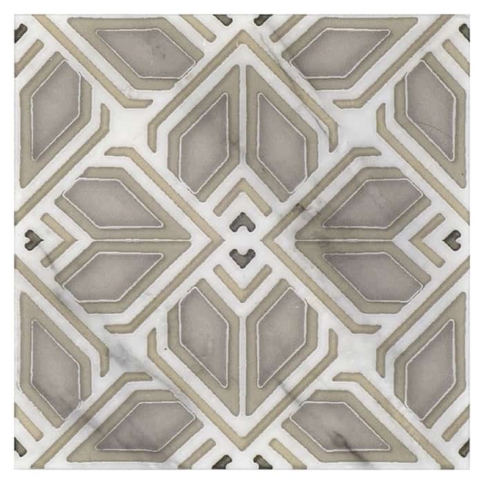AST - PS - HR - Avery - Grande Pattern - Latte - Carrara