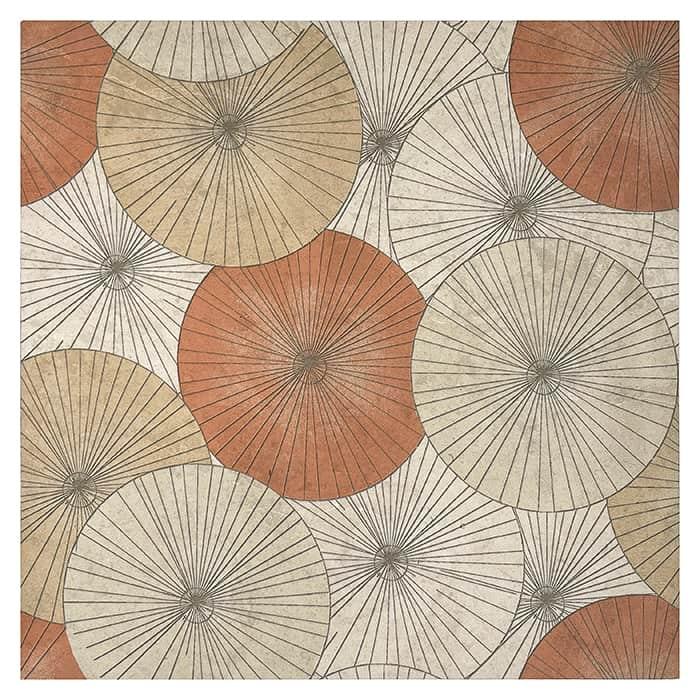 Parasol - Poppy - Limestone