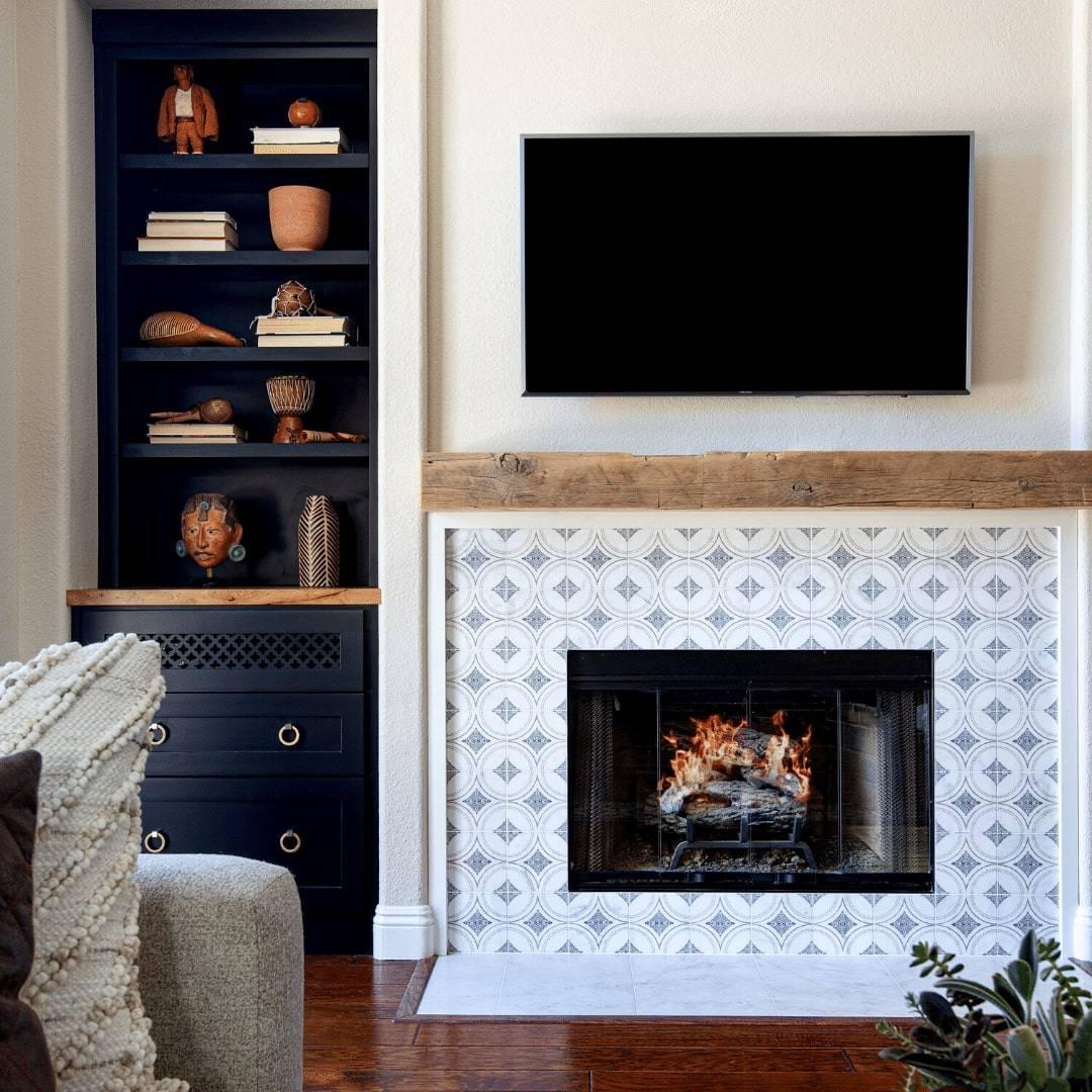 Ventana Fireplace