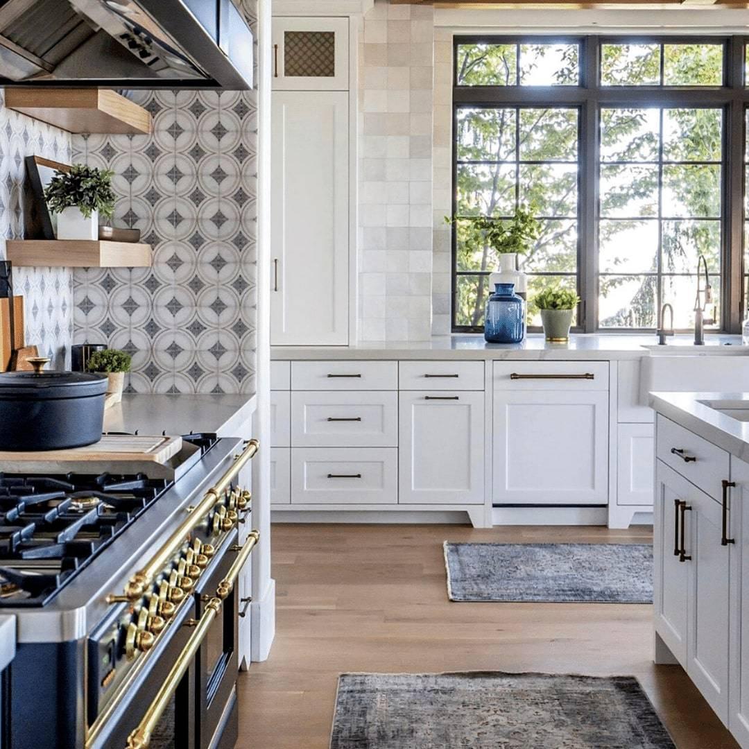 Ventana Pattern Kitchen